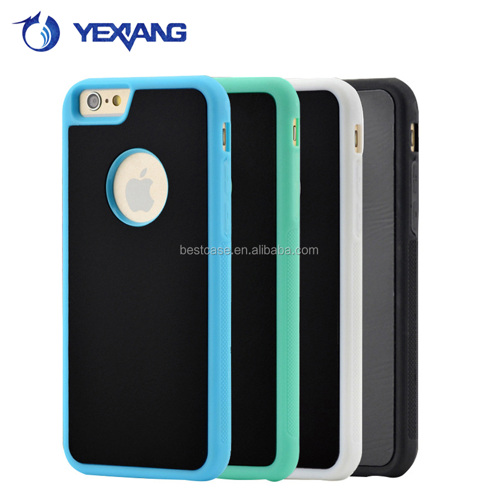 Hot new products nano tec sticky back cover anti-gravity phone case for iphone 6