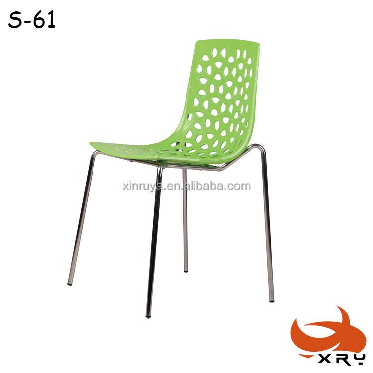 China el proveedor de muebles de exterior silla chorme metal silla sillas de pl stico sillas de - Proveedores de sillas ...