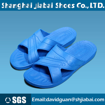 a31c80925a49 Anti-static slippers blue PVC sole work antistatic shoes For food  manufacturing unsix cleanroom esd