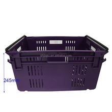 Nestable Bale Arm Tray FOOD DISTRIBUTION CRATES