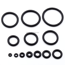 Body Piercing Black Rubber Replacement O-Rings For Plugs Stretcher Tapers Gauge