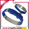 Artigifts hot selling adjustable silicon wristbands