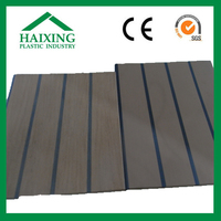 imitation wood plank fencing for villa wood CE,SGS,ani-UV