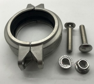 XB pipe fitting coupling clamp