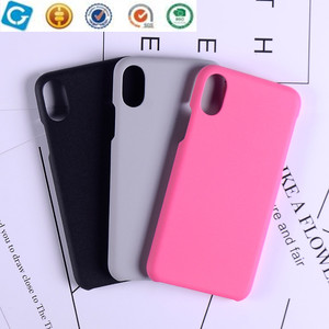 Mobile phone Fluff paint cases for iphone X protective cases