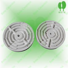 Cordierite ceramic insulating radiation plate