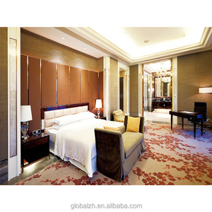 Veneer finished Modern sheraton hotel furniture for hotel room GZH-SJ005
