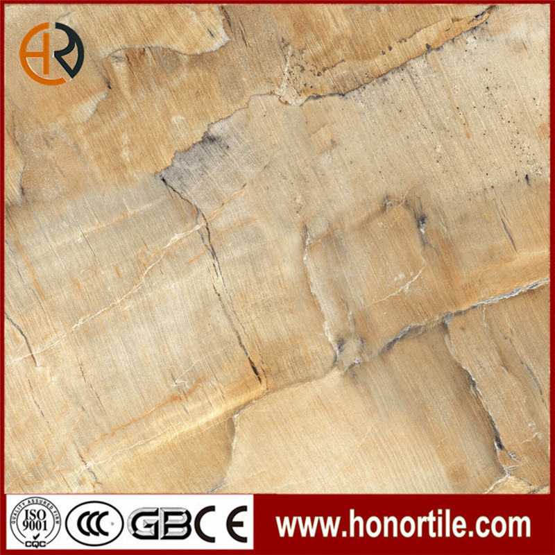 golden color sandstone look porcelain tiles