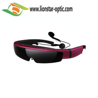 wholesale Auto cinema 3d glasses for Hisense TV with high quality For Music Sport Sunglasses