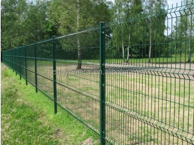 The newest cheap decorative metal plastic garden fence