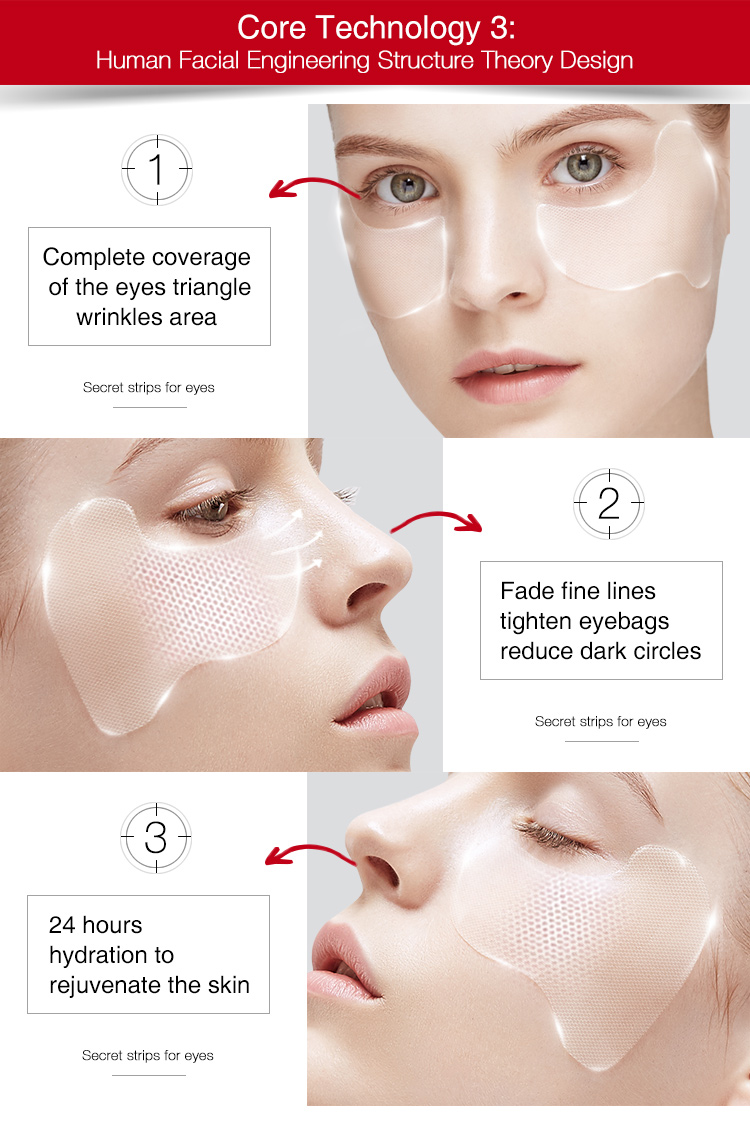 Beauty And Personal Care anti wrinkle serum Anti-aging Korean Mask Eyes For Man And Woman