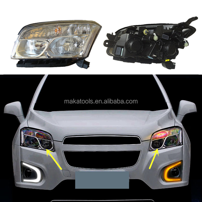 For Chevrolet Trax 2014-2016 HID+Front Headlight Composite Set LED+DRL Lighting