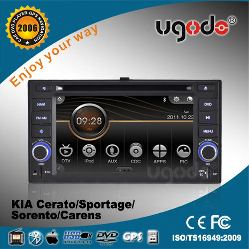 ugode 6.2 inch car multimedia for 2006-2010 Kia Carens in car DVD