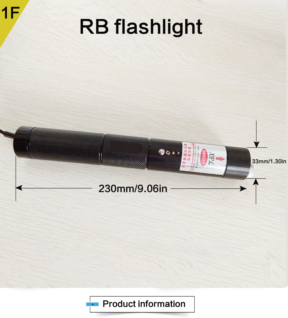 XPL-RB500 500mw multi color high power multi-pattern blue red and purple laser pointer