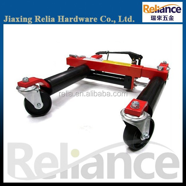 "12"" Hydraulic Positioning Jack, Car Wheel Jack, Go Dolly"