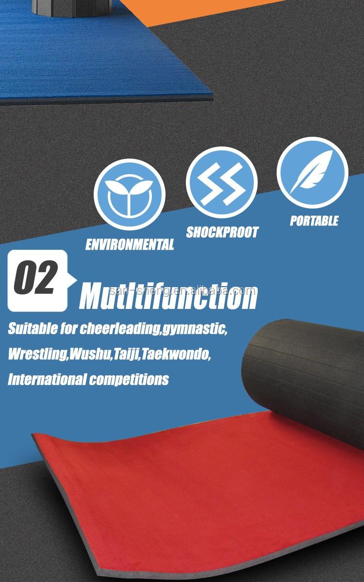Dance Ribbon Type Gymnastics Roll Mat Buy Dollamur Flexi