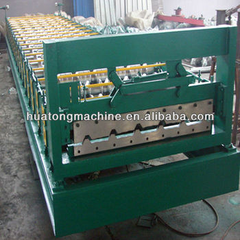 sheet metal roofing machine