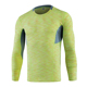 Running Shirt Men Long Sleeve Sport TShirt Quickly Dry Breathable Fitness Gym Top Tee Male Yoga Clothes Compression Shirt