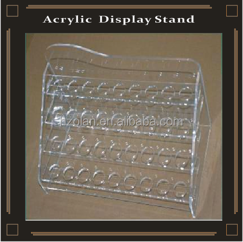 Acrylic E cigaratte Display Shelf e Liquid Holder Stand