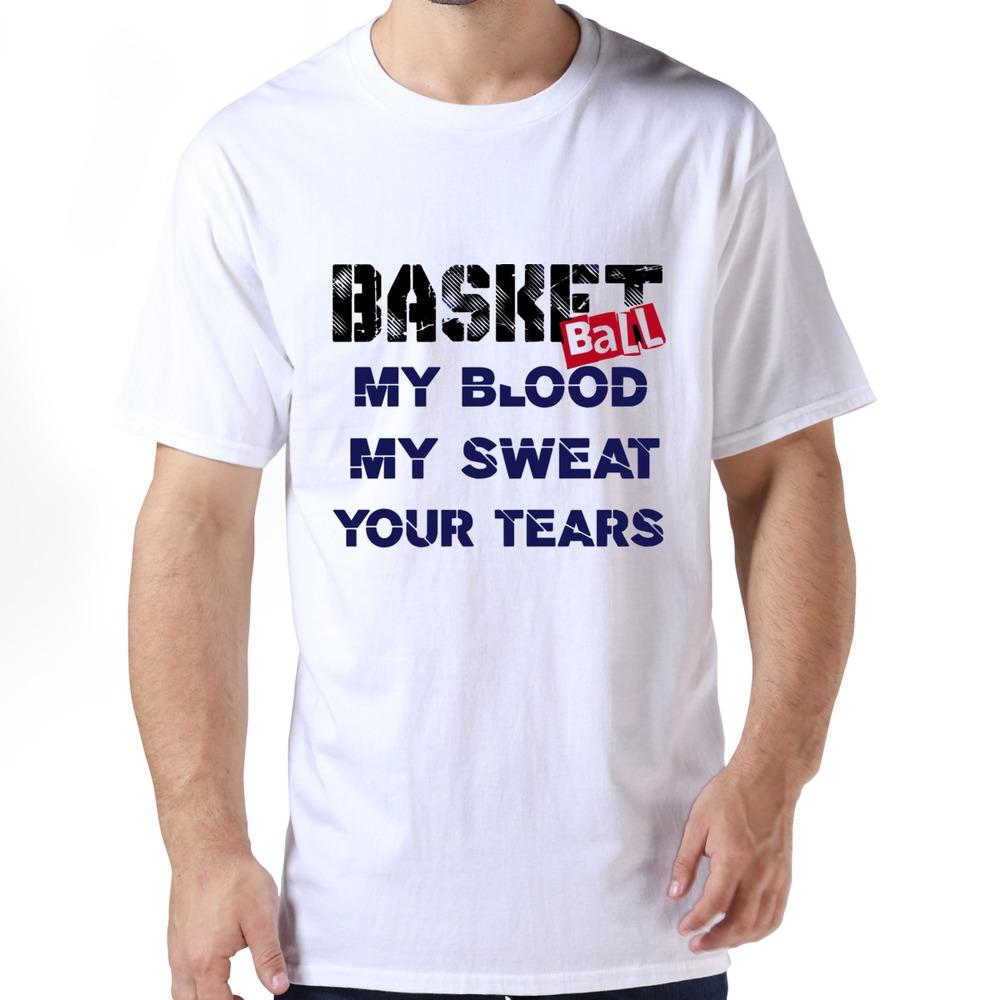 Style regular t shirts funny basketball t shirt for men ...