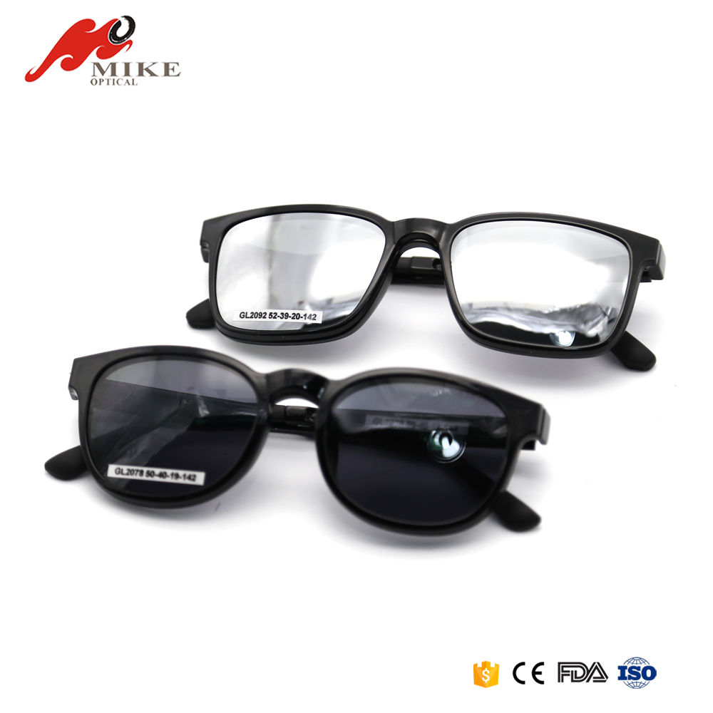 2017 Fashion Clip On Sunglasses Eyeglasses Without Nose Pads For Plastic Frames Clip On Sunglasses