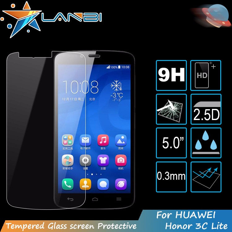 Lanbi 9h Used Mobile Phone Tempered Glass Screen Protector Sheet For Huawei  Honor 3c Lite - Buy Used Mobile Phones Tempered Glass Screen Protector,For