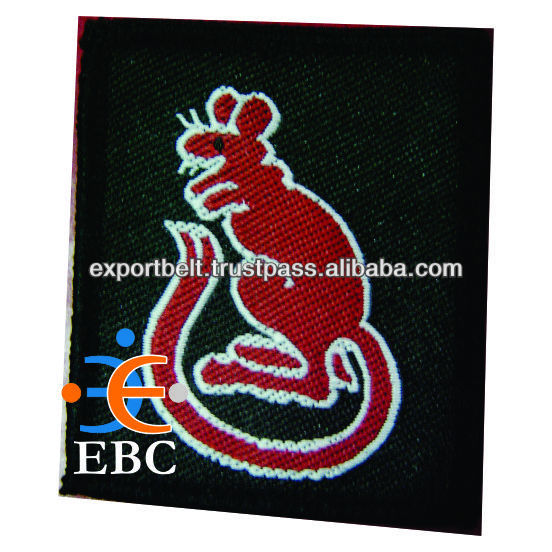 Woven and Embroidered Patch | Embroidery, Garment Accessories | Custom Design Badge