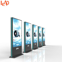 Standing Vertical LED Advertising Digital Signage Screen Display