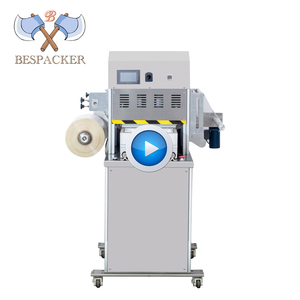 Bespacker automatic cup sealing machine XBG-100 food plastic tray cup sealing machine