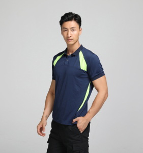 China factory direct garage work shirt for men custom design breathable work t-shirt with logo for workwear