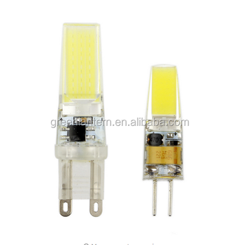 G9 2w Cob Led Light Lamps Ac/dc 12v Equivalent To 15w T3 Halogen ...