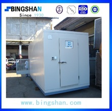 turnkey 40GP China supply movable cold room for strawberry/ice cream with pu panel
