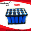 Shenzhen manufacturer high quolity real capacity 18650 battery cell for pack