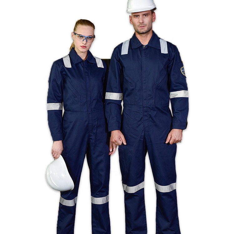 100% Fireproof Materials Fire Resistance FR Safety Coverall scrub suit