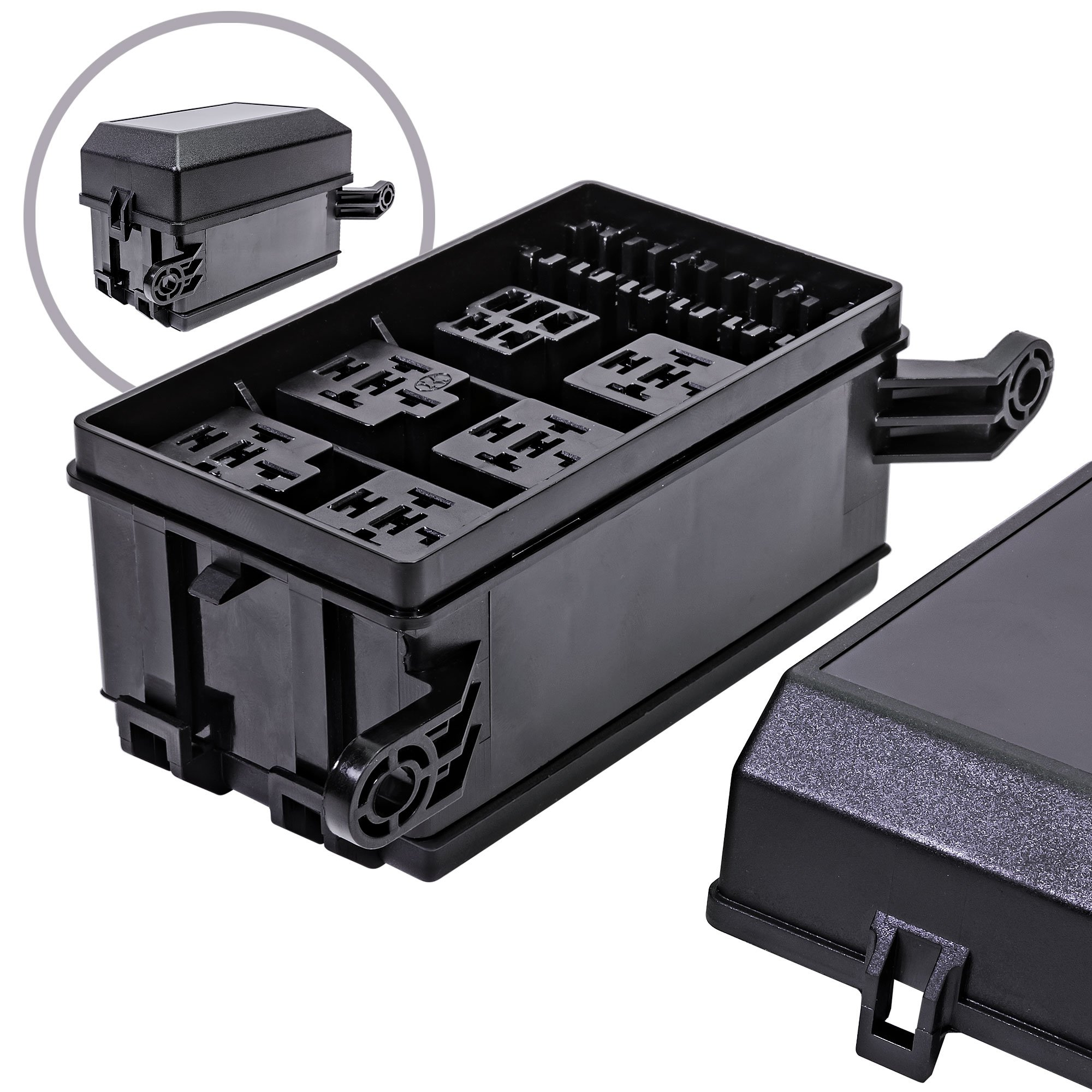 Cheap Fuse Relay Box Find Deals On Line At Alibabacom Universal Under Hood Get Quotations Ols 12 Slot 6 Relays Blade Fuses