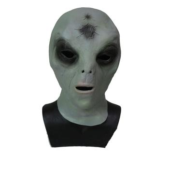 Latex Funny Alien Head Mask Cosplay Costume Halloween Party Carnival Mask