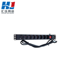6way,8 way french type PDU,16A,250vac ,European Socket Rack Mount smart PDU