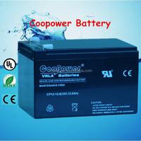 12 volt agm battery/ 12v12ah Gel Sealed lead acid battery for solar system