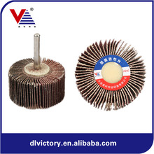 free sample mini Power Tools Abrasive Flap Wheel with Shaft 30*25*6mm