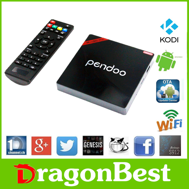 2017 Good price of Pendoo Minimx Pro S912 2G 16G 4k android <strong>tv</strong> <strong>box</strong> wholesale smart <strong>set</strong> top KODI <strong>TV</strong> <strong>Box</strong>