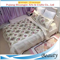 High Quality Wholesale Microfiber Bedspread For Bedroom Patchwork Quilt