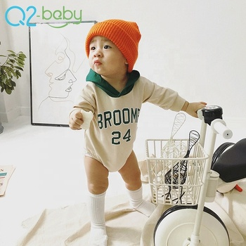 Bulk in-stock autumn winter long sleeve baby born clothes thicken infants jumpsuit baby bodysuit romper factory