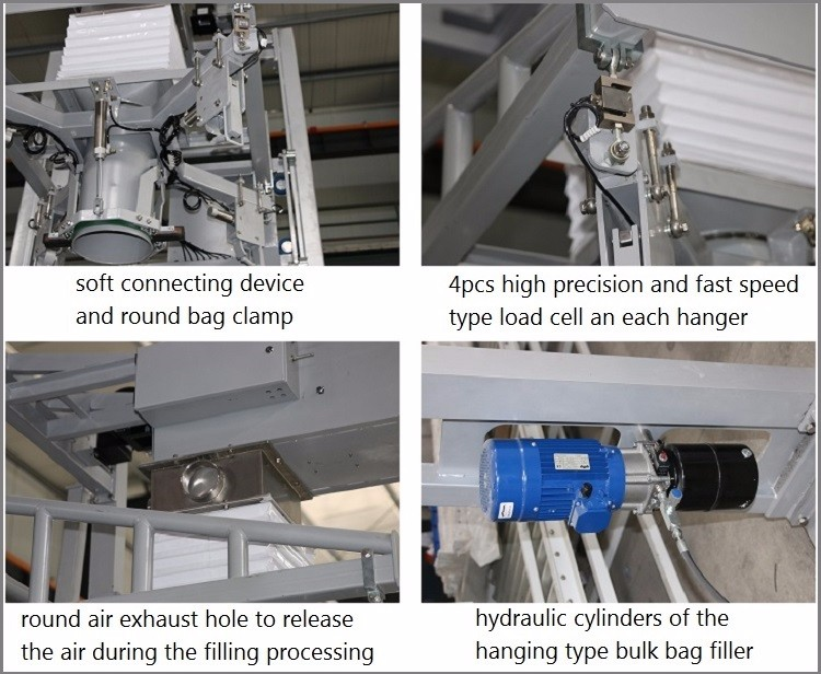 Power Washing Machine >> Bulk Gypsum Powder Filling Packaging Machine Jumbo Bag / Super Sack - Buy Gypsum Powder Filling ...