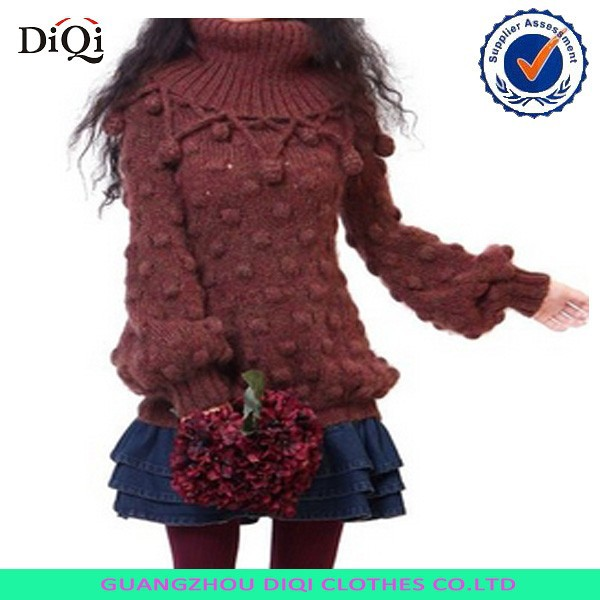 058690f5582 Oem Wool Handmade Sweater Design For Girl From Knitted Factory