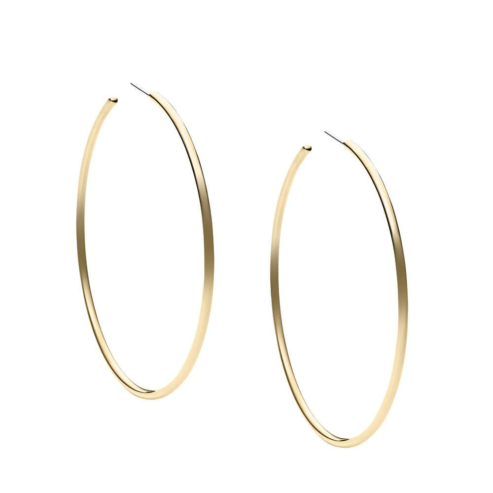 Stainless Steel Hoop Earrings Gold Plated Jewelry Women High Quality Product On Alibaba