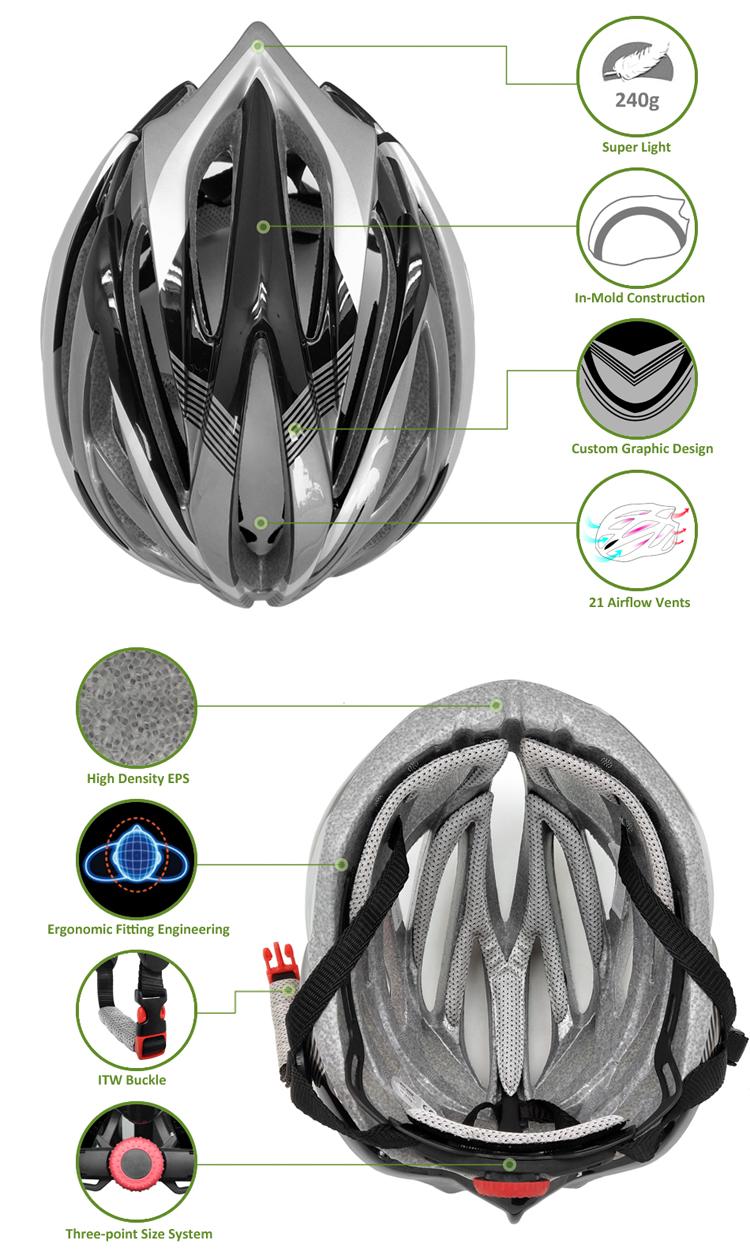 road racing helmet AU-ZH09 Details 7