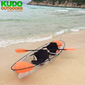Change The Reality! The Transparent Kayak Manufacturer KUDO Clear Kayak