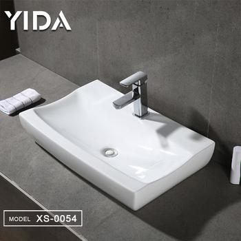 Unique Shape Width Bathroom Countertop Basin Wash Clothes ...