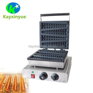Hot Sale 4 Sticks Automatic Electric Lolly Waffle Maker Custom Plate/Waffle Stick Machine