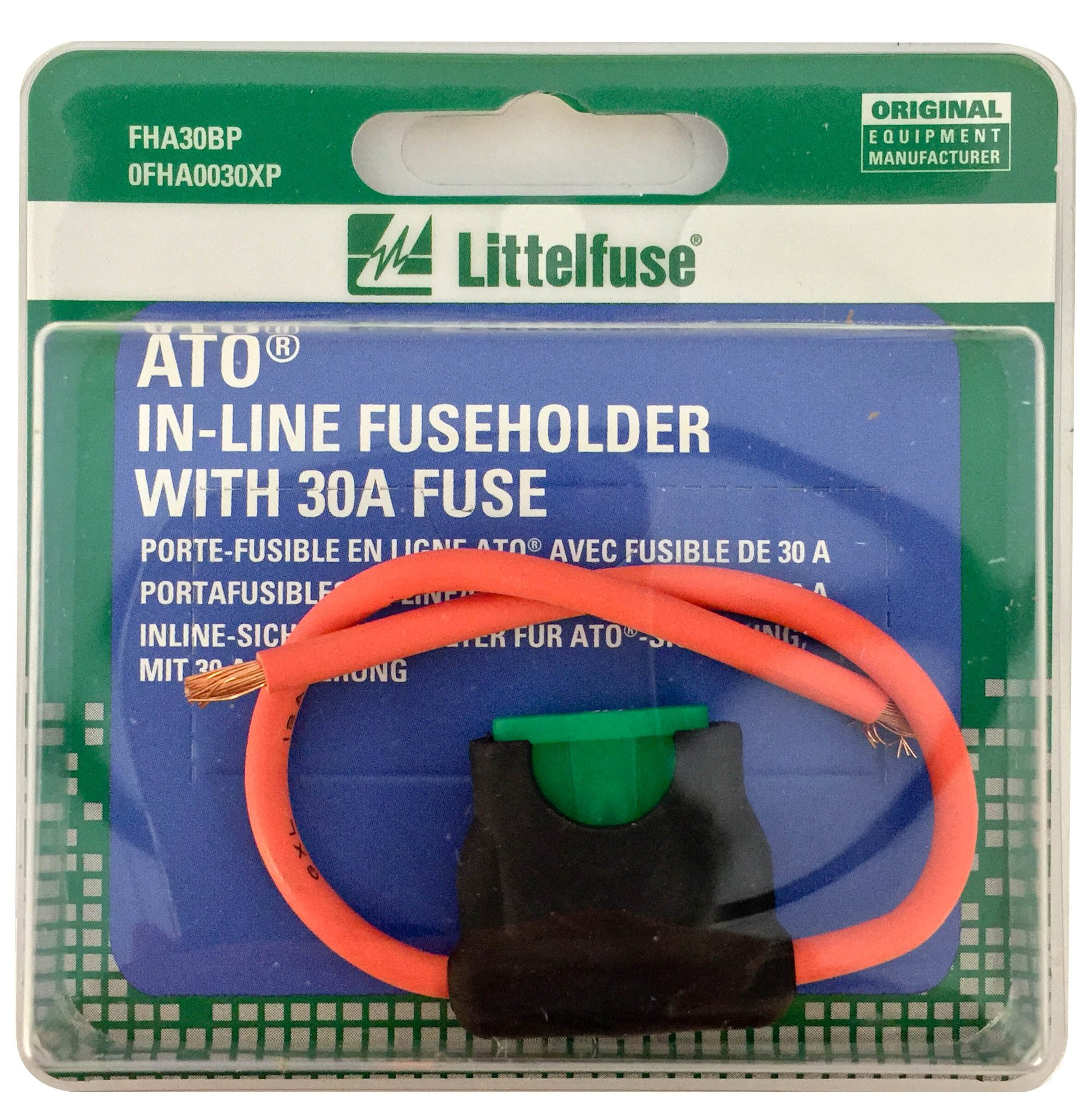 Cheap Ato Fuse Holder Find Deals On Line At Alibabacom Addacircuit Piggy Back Mini Blade Blue 20amp Get Quotations Littelfuse 0fha0030xp Acs Hd Carded Inline With 30 Amp